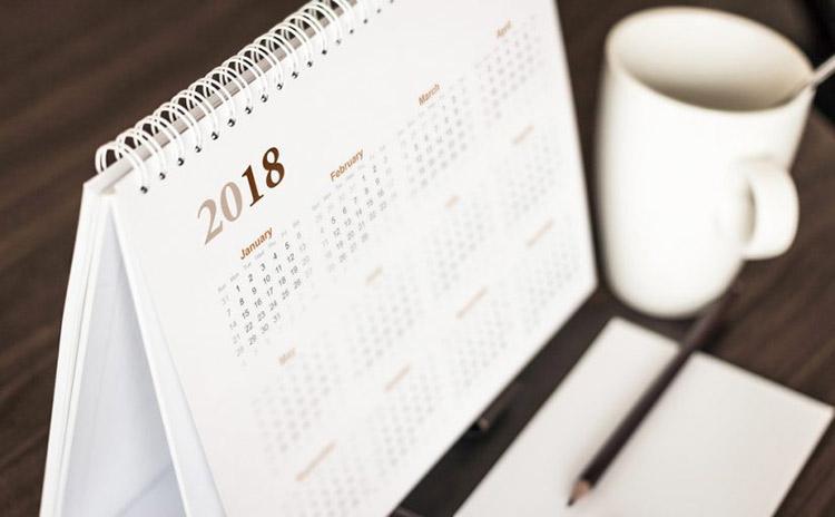 Calendrier Format Excel.Calendrier 2018 Au Format Excel Modeles Excel