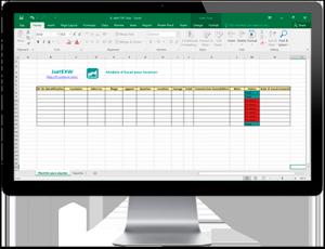 Plantillas d'Excel