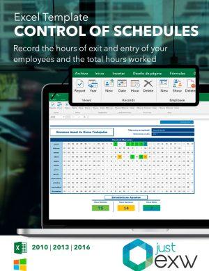 Contrôle des heures avec Excel